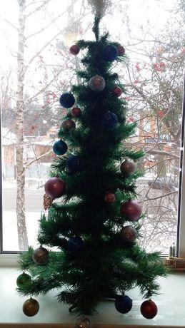 Новогодняя елка 1.25 м