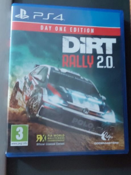 Dirt rally 2.0 ps4 como novo