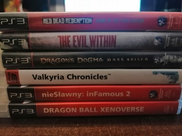 Gry na PlayStation 3 the evil within red dead redemption dragon dogma