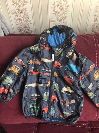 Ветровка куртка машинки next,zara h&m 9-12м