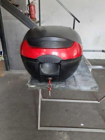 top case 33litros  scooter moto vespa acelera