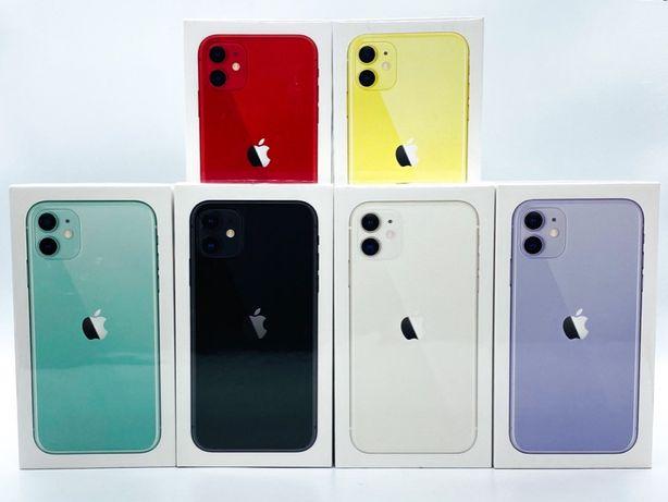 Nowy iPhone 11 128gb Zielony Czerwony Czarny Fiolet Biały Żelazna 89