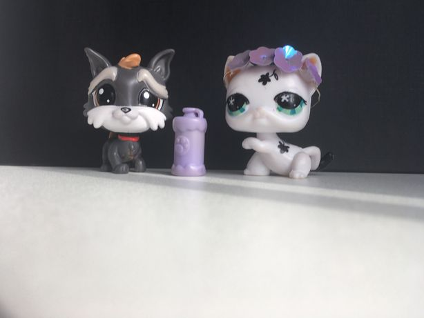 Littlest Pet Shop/piesek i kot
