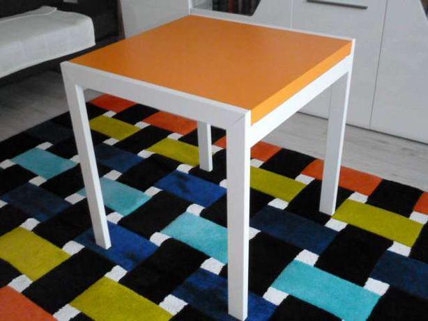 Stół rozkładany, kwadratowy DADO Q B ARANCIO ( 70 x 70 x 140 cm. )