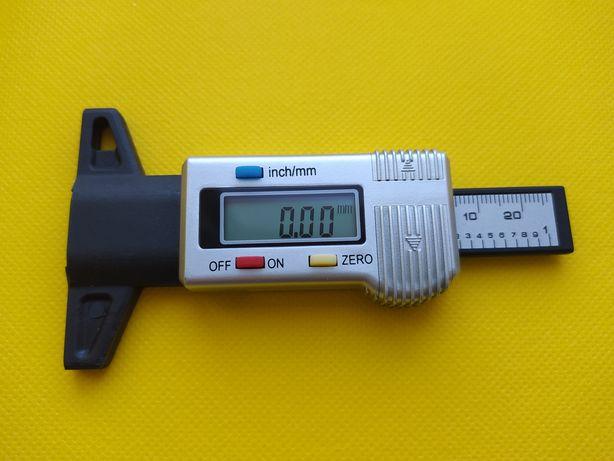 Глубиномер цифровой для измерения глубины протектора шины