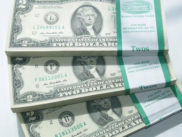 2 доллара США. Чикаго 2009г. и 2013г.