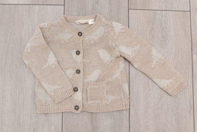 Sweterek 62/68 dla chłopca lub dziewczynki