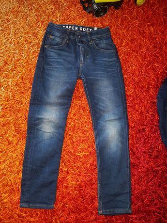 Spodnie dżinsy h&m