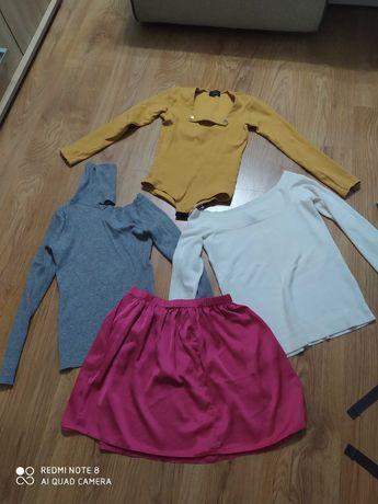 Ubrania sukienki,spodnice bluzki 38