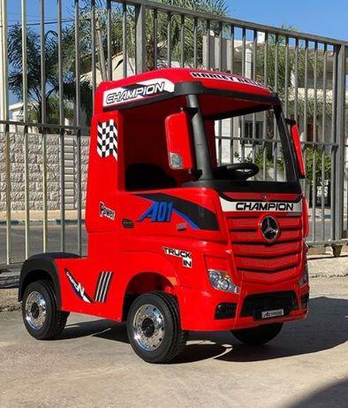 TIR MERCEDES ACTROS ciągnik 4x4 dla dzieci na akumulator 2x12V