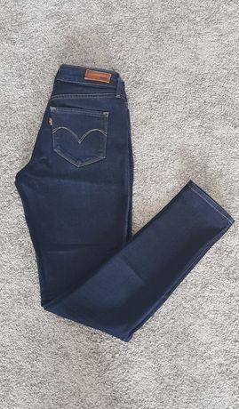 Spodnie jeansy Levis Bold Curve W26 L32