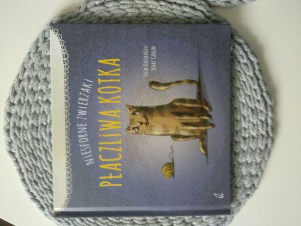 """Nowa książka o uczuciach """"płaczliwa kotka"""""""