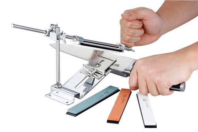 Точило +4 камня/Точильный станок для ножей и Ножниц/ заточная/точилка