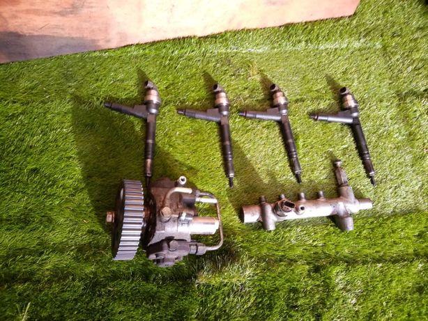 Injeção denso de motor Opel Z17DTH Injectores régua e bomba injectora