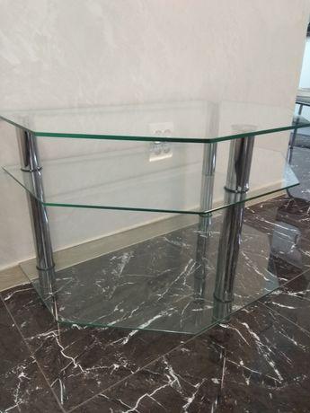 Столик стеклянный 3 палочки.