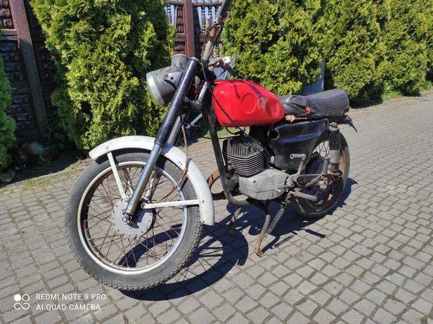 WSK 175 zamiana zamienię na motocykl quad cross prl auto shl
