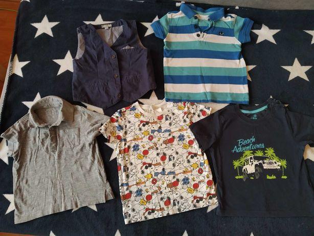 Koszulki chłopiec 86 używane