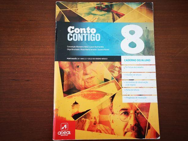 Conto Contigo - caderno de atividades Português 8°ano