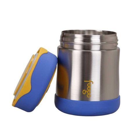 Термос для еды детский Thermos Stainless Steel Food Flask, Blue, 290мл