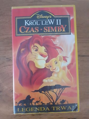 Król lew 2 czas simby kaseta vhs