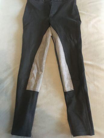 Bryczesy spodnie do jazdy konnej