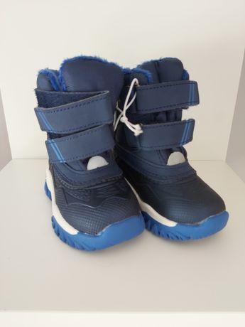 Buty zimowe śniegowce rozm. 20