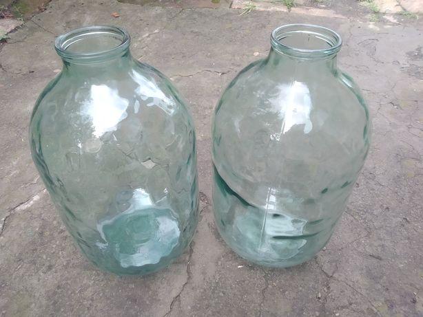 Продам бутыли стеклянные 10 литров,советского производства.