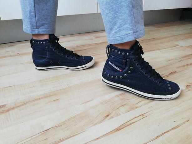 Buty sportowe jeansowe