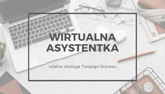 Wirtualna asystentka - zdalna obsługa Twojego biznesu / copywriting