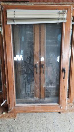 Okna drewniane, stan dobry