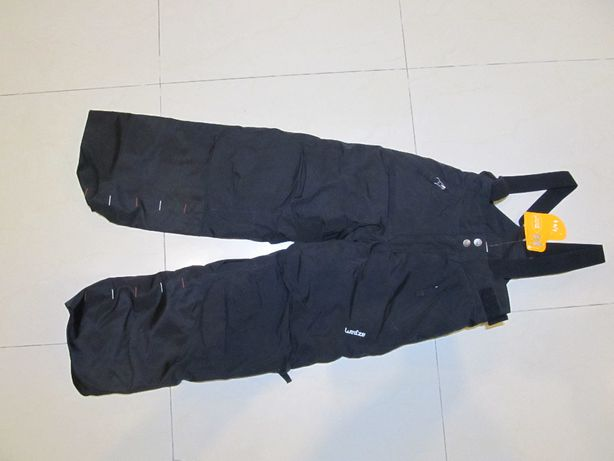 NOWE Spodnie Narciarskie dla dziecka regulowana długość 114-121 cm.