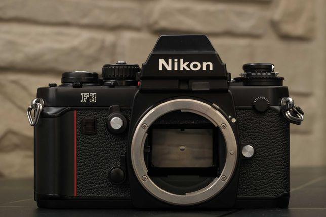 Nikon F3 плёночная камера