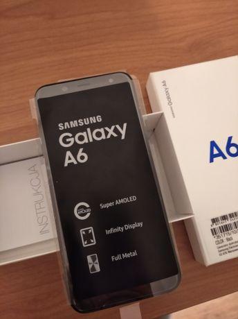 Samsung a6 2018 3/32gb dual SIM. Komplet