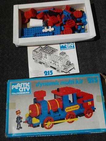 Locomotiva em Lego
