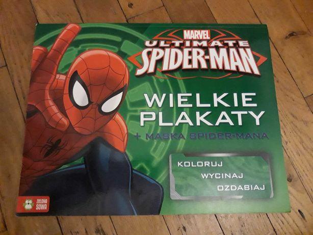 MARVEL Ultimate Spider-Man Wielkie plakaty do kolorowania