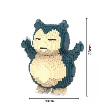 Klocki pokemon go Snorlax duży