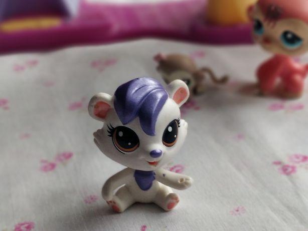 Littlest Pet Shop - LPS - Hasbro -  Biały miś niedziwiadek niedźwiedź