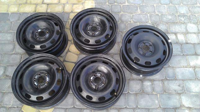 Диски стальные 5x100 R15 Volkswagen Jetta PoloSedan Golf IV Skoda