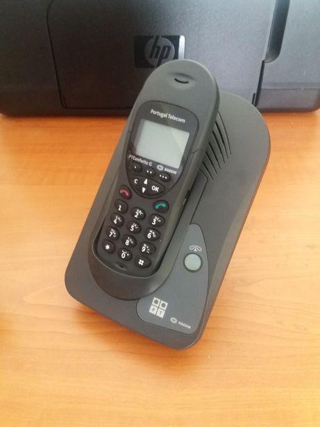 Telefone fixo PT Conforto Gold - SAGEM sem fios para peças / reparar