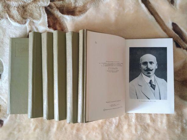 Михайло Коцюбинський. Твори у семи томах. 1975 рік.