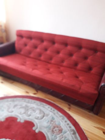 Wersalka fotele pufa