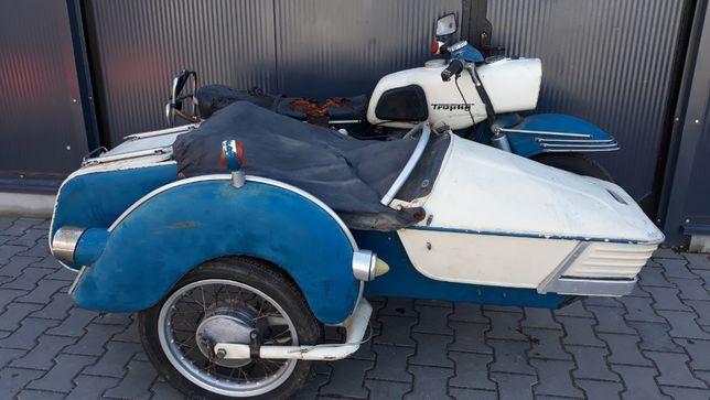 MZ ES 250 z wózkiem, motobazar-prl.pl