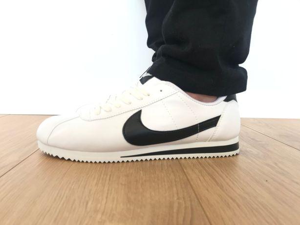 Nike Cortez. Rozmiar 42. kolor Biały z czarnym. NAJTANIEJ!