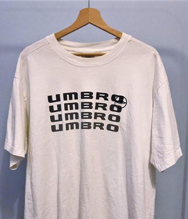 Umbro tshirt oldschool streetwear bialy crewneck XXL oversize unisex Gdańsk - image 1