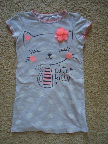 Cool Club Sukienka z kotkiem r. 128