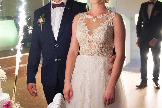 Suknia ślubna roz.36 wzrost 165 cm
