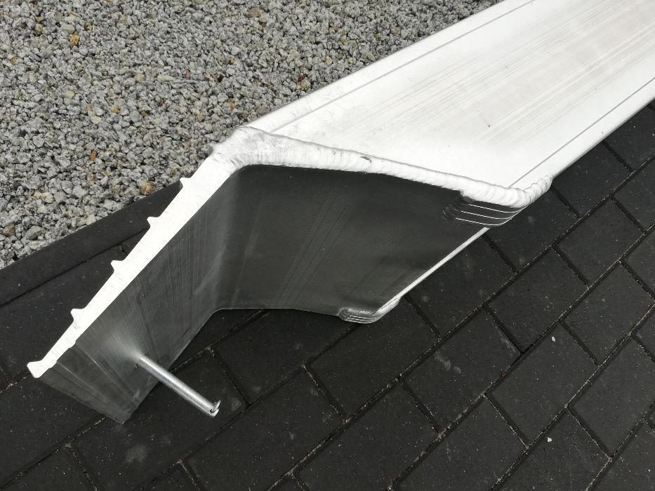 Najazdy aluminiowe 3T rampa Nowe najazdy 2,5m różne rozmiary Brzeziny - image 1