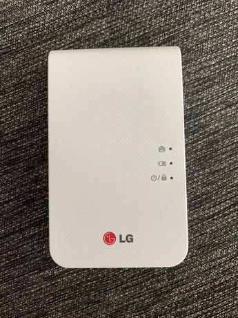 Impressora de fotos portátil LG PD239