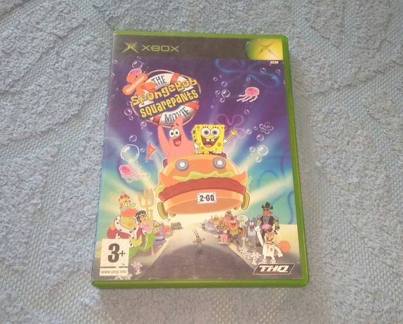 The SpongeBob Movie Game, Xbox Original, Лицензия.