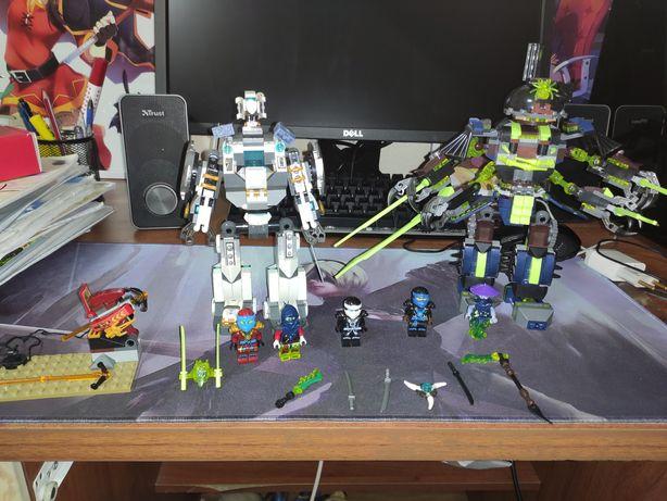 Лего Ниндзяго Битва титановых роботов (79121)